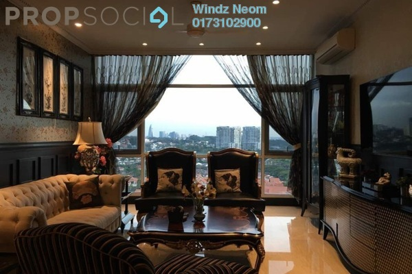 For Sale Condominium at Sunway Vivaldi, Mont Kiara Freehold Fully Furnished 4R/4B 4.2m