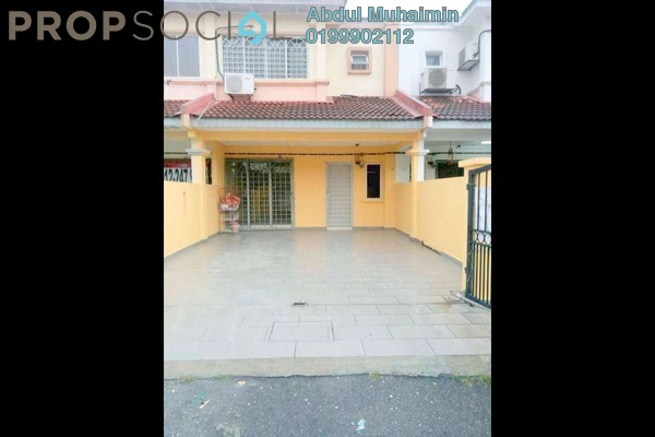 For Sale Terrace at Prima Saujana, Kajang Freehold Semi Furnished 4R/3B 420k