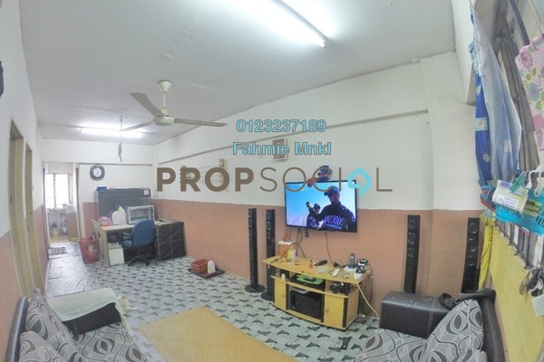 For Sale Apartment at Mutiara Fadason, Jinjang Freehold Semi Furnished 3R/2B 150k