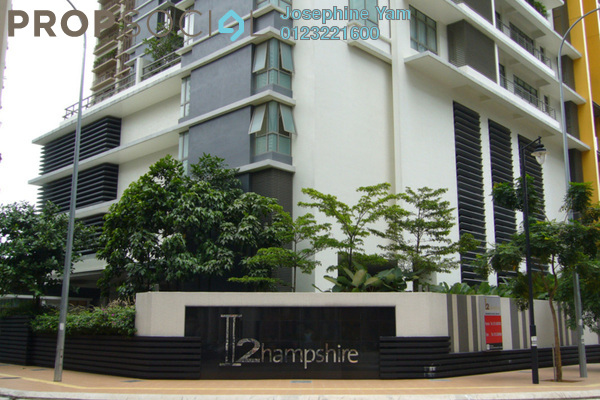 For Rent Condominium at 2 Hampshire, KLCC Freehold Semi Furnished 6R/6B 16k