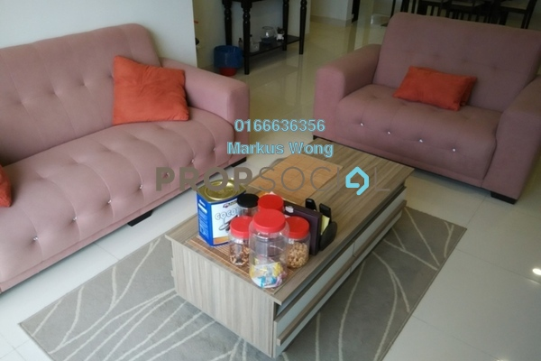 For Sale Condominium at KM1, Bukit Jalil Freehold Semi Furnished 3R/2B 1m