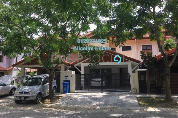 For Rent Terrace at Garden Park Homes, Cahaya SPK Freehold Semi Furnished 5R/5B 1.8k