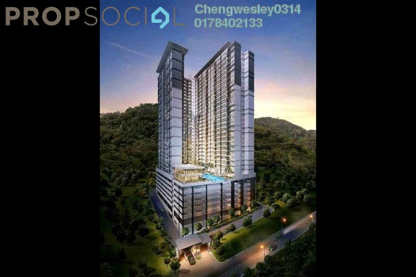For Sale Condominium at The Trees, Kuala Lumpur Freehold Unfurnished 3R/2B 425k
