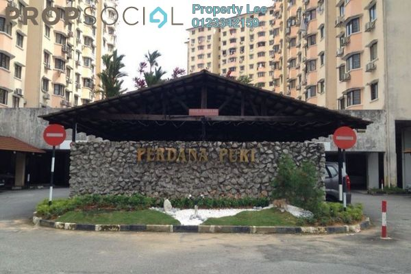 For Rent Condominium at Perdana Puri, Kepong Freehold Semi Furnished 3R/2B 1k