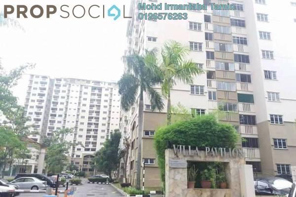 For Sale Condominium at Villa Pavilion, Seri Kembangan Freehold Semi Furnished 3R/2B 395k