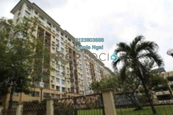 For Rent Condominium at Taman Abadi Indah, Taman Desa Freehold Semi Furnished 3R/2B 1.2k