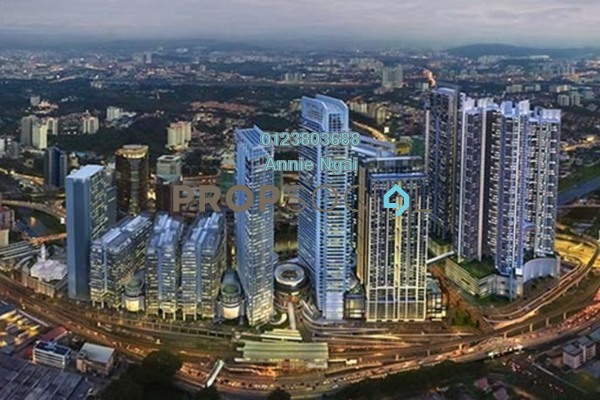 For Sale Office at KL Eco City, Mid Valley City Freehold Unfurnished 0R/0B 1.9m