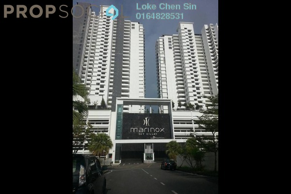 For Rent Condominium at Marinox Sky Villas, Seri Tanjung Pinang Freehold Fully Furnished 3R/2B 3.5k
