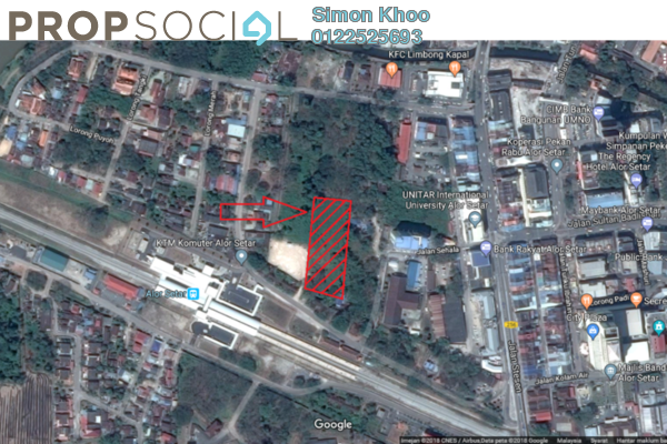 For Sale Land at Taman Kolej, Alor Setar Freehold Unfurnished 0R/0B 5.2m