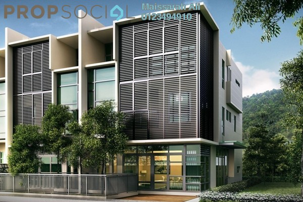 For Rent Terrace at Taman Melawati, Melawati Freehold Unfurnished 5R/5B 4.2k