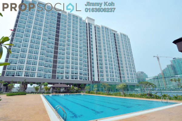 For Rent Condominium at Mutiara Ville, Cyberjaya Freehold Fully Furnished 1R/1B 1.2k