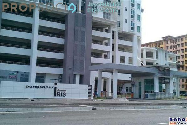 For Sale Condominium at Idaman Iris, Sungai Ara Freehold Fully Furnished 3R/2B 460k