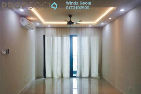 For Rent Condominium at The Reach @ Titiwangsa, Setapak Freehold Semi Furnished 3R/2B 2.6Ribu