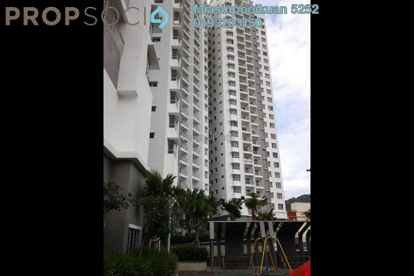 For Rent Condominium at Symphony Heights, Selayang Freehold Semi Furnished 4R/3B 1.3k