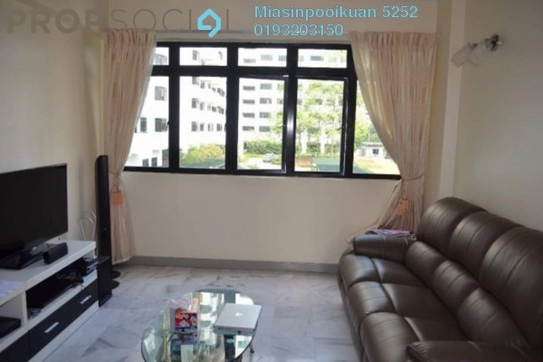 For Rent Condominium at South View, Bangsar South Freehold Fully Furnished 3R/2B 1.8k