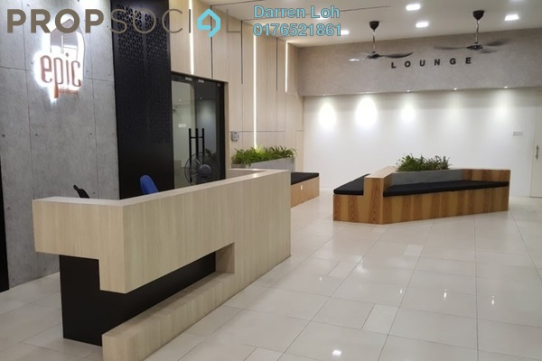 For Rent Condominium at Epic Residence, Bandar Bukit Puchong Freehold Semi Furnished 3R/2B 1.6k