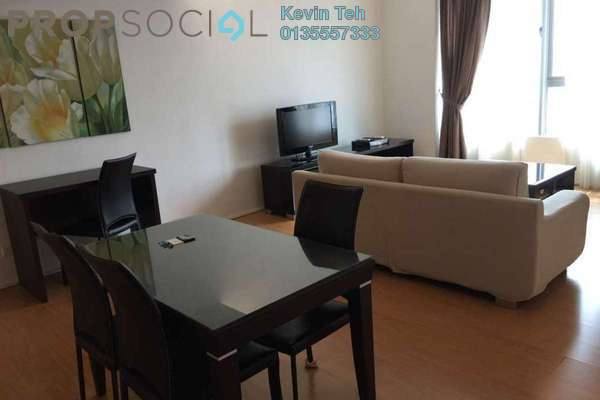 For Rent Condominium at i-Zen Kiara I, Mont Kiara Freehold Fully Furnished 1R/1B 3k