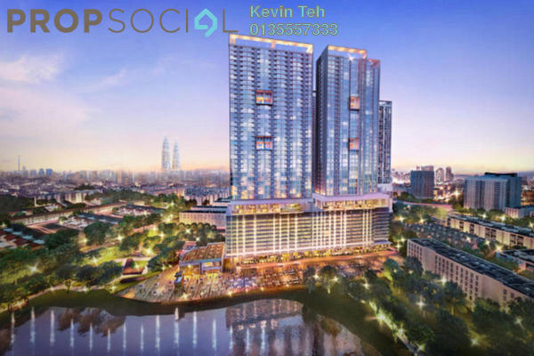 For Sale Condominium at Shamelin Star Serviced Residences, Cheras Freehold Unfurnished 3R/2B 730k