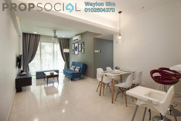 For Rent Condominium at D'Alamanda, Cheras Freehold Fully Furnished 2R/1B 1.7k