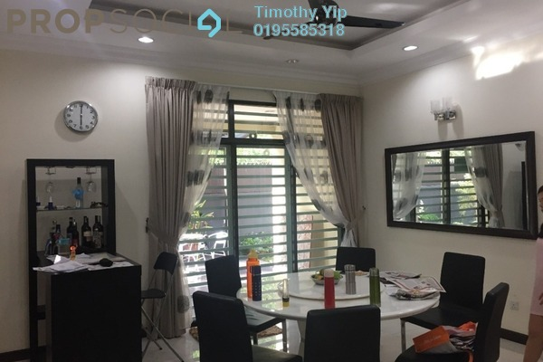 For Sale Terrace at SL13, Bandar Sungai Long Freehold Semi Furnished 4R/3B 1.08m