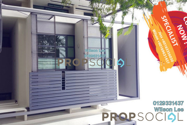 For Sale Terrace at Casaman, Desa ParkCity Freehold Semi Furnished 5R/6B 3.35m