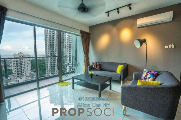For Sale Condominium at The Latitude, Tanjung Tokong Freehold Fully Furnished 3R/4B 835k