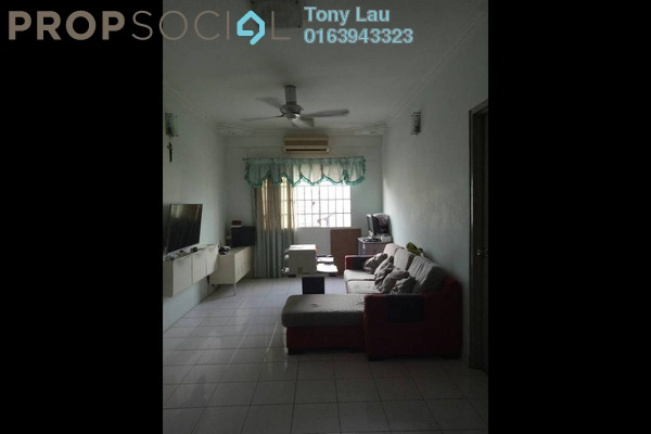For Rent Apartment at Cemara Apartment, Bandar Sri Permaisuri Freehold Semi Furnished 3R/2B 1.3k