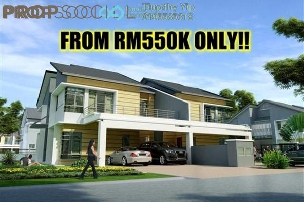 For Sale Terrace at Taman Bangi Villa, Bangi Freehold Unfurnished 4R/3B 550k
