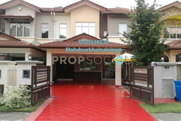 For Sale Terrace at Canal Gardens, Kota Kemuning Freehold Semi Furnished 5R/5B 1.3m