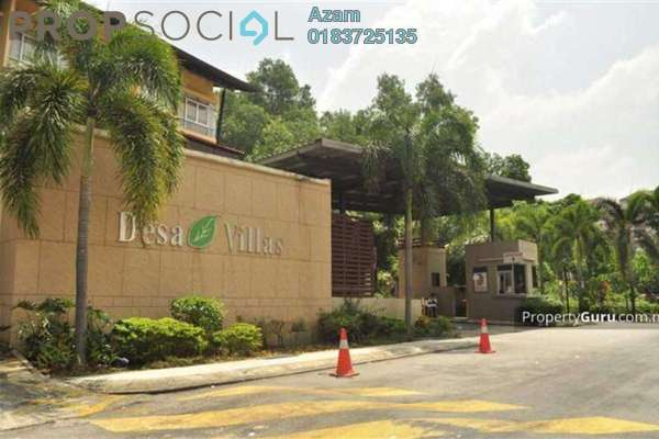 For Sale Condominium at Desa Villas, Wangsa Maju Freehold Semi Furnished 4R/2B 680.0千