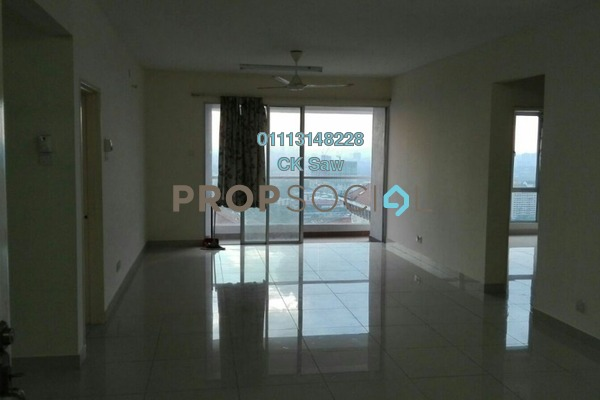 For Rent Condominium at Platinum Hill PV2, Setapak Freehold Fully Furnished 4R/2B 2k