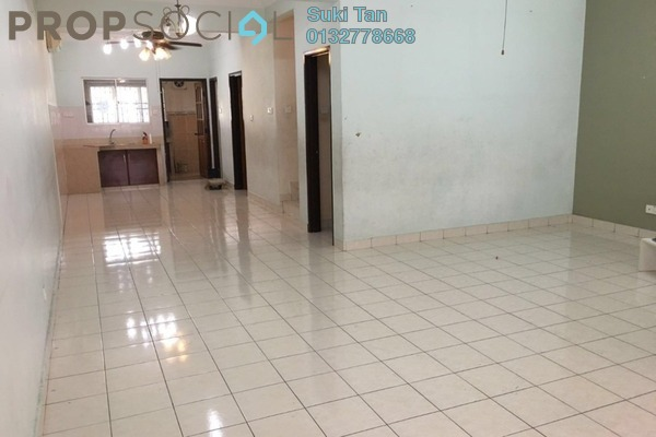 For Sale Terrace at Taman Megah, Kepong Freehold Semi Furnished 4R/3B 950k