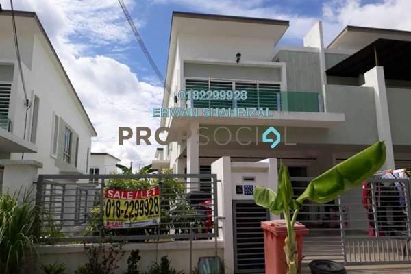For Sale Terrace at Alconix, Bandar Sri Sendayan Freehold Semi Furnished 4R/3B 570k