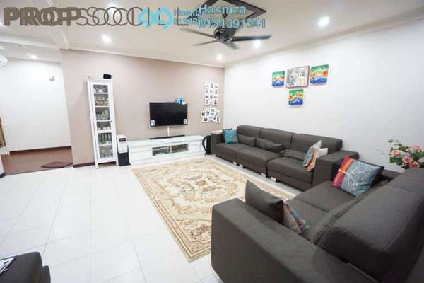 For Sale Superlink at Sunway Kayangan, Shah Alam Leasehold Semi Furnished 4R/4B 755k