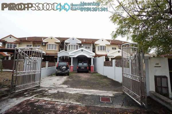 For Sale Terrace at Section 7, Shah Alam Leasehold Semi Furnished 4R/3B 690k