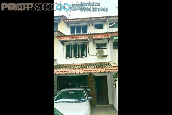 For Sale Terrace at Taman Sri Sinar, Segambut Freehold Semi Furnished 3R/2B 530k