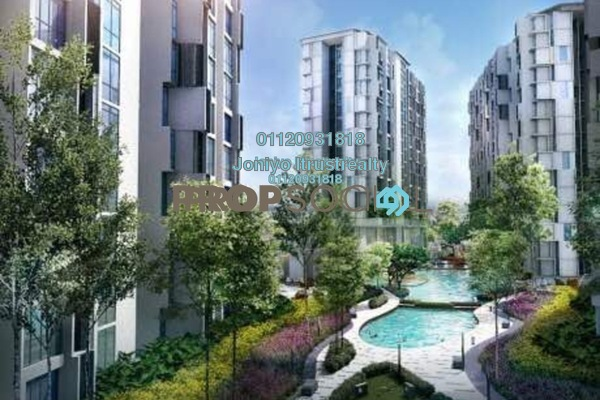 For Sale Condominium at Empire Subang, Subang Jaya Freehold Semi Furnished 1R/1B 369k