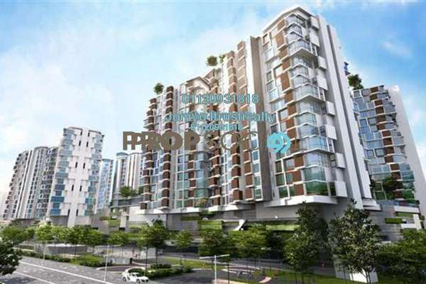 For Sale Condominium at AraGreens Residences, Ara Damansara Freehold Semi Furnished 3R/2B 590k