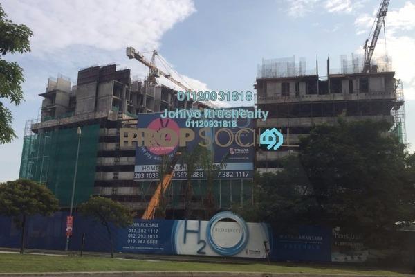 For Sale Condominium at H2O Residences, Ara Damansara Freehold Semi Furnished 1R/1B 358k