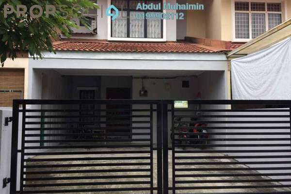 For Sale Terrace at Bandar Country Homes, Rawang Freehold Semi Furnished 4R/3B 350k