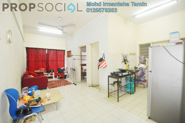 For Sale Apartment at Suria Apartment, Damansara Damai Freehold Unfurnished 2R/1B 130k