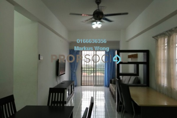 For Rent Apartment at Jalil Damai, Bukit Jalil Freehold Fully Furnished 3R/2B 1.4k