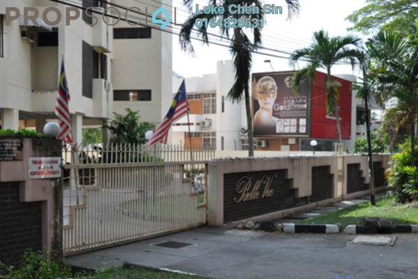 For Rent Condominium at Belle Vue Residences, Pulau Tikus Freehold Fully Furnished 3R/2B 1.9k