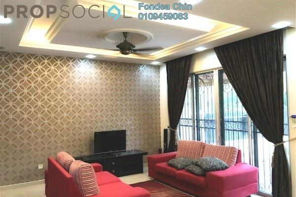 For Rent Terrace at Section 7, Shah Alam Freehold Fully Furnished 4R/3B 2.3k