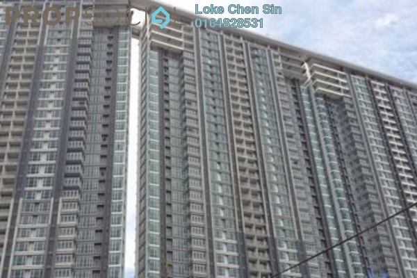 For Rent Condominium at The Peak Residences, Tanjung Tokong Freehold Fully Furnished 3R/2B 2.6k