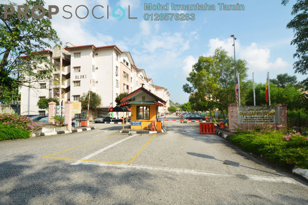 For Sale Apartment at Resak Apartment, Shah Alam Leasehold Unfurnished 3R/2B 175k