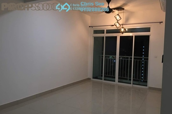 For Rent Condominium at V-Residensi 2, Shah Alam Freehold Semi Furnished 3R/2B 1.5k