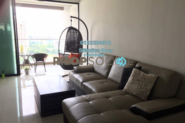 For Rent Condominium at Papillon Desahill, Taman Desa Freehold Fully Furnished 3R/3B 3.6k