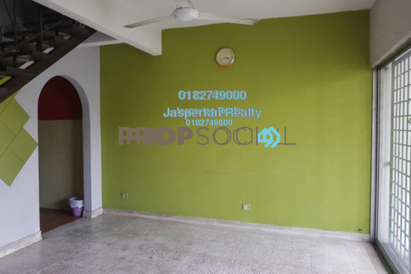 For Rent Terrace at SS19, Subang Jaya Freehold Semi Furnished 2R/2B 1.2k