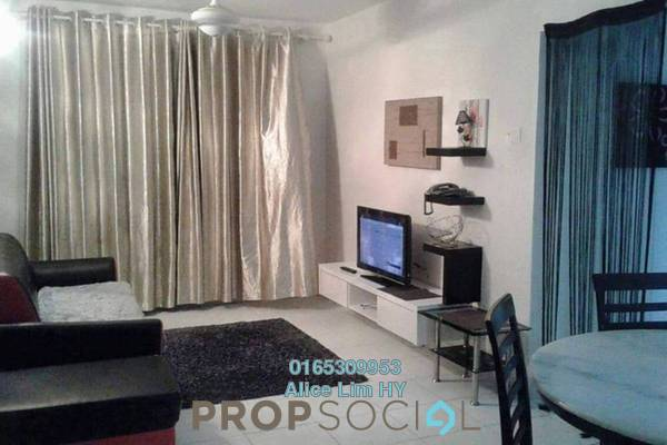 For Rent Condominium at Melody Homes, Farlim Freehold Fully Furnished 3R/2B 1.2k